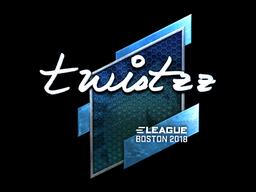 Наклейка | Twistzz (металлическая) | Бостон 2018