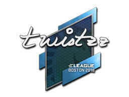 Наклейка | Twistzz | Бостон 2018