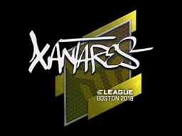 Наклейка | XANTARES | Бостон 2018