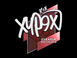 Наклейка | Xyp9x | Бостон 2018