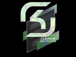 Наклейка | SK Gaming (голографическая) | Бостон 2018