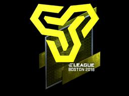 Sticker | Space Soldiers (Foil) | Boston 2018