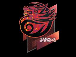 Sticker | Tyloo (Holo) | Boston 2018