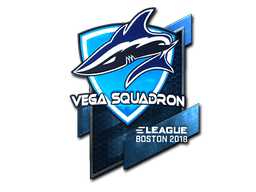 Sticker | Vega Squadron (Foil) | Boston 2018