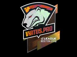 Наклейка | Virtus.Pro (голографическая) | Бостон 2018
