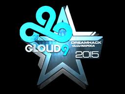 Наклейка | Cloud9 (металлическая) | Клуж-Напока 2015