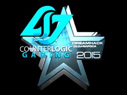Наклейка | Counter Logic Gaming (металлическая) | Клуж-Напока 2015
