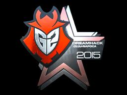 Sticker   G2 Esports (Foil)   Cluj-Napoca 2015