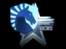 Наклейка | Team Liquid (металлическая) | Клуж-Напока 2015