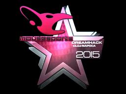 Наклейка | mousesports (металлическая) | Клуж-Напока 2015