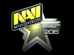 Sticker   Natus Vincere (Foil)   Cluj-Napoca 2015