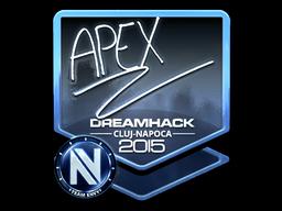 Sticker | apEX (Foil) | Cluj-Napoca 2015