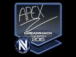 Sticker | apEX | Cluj-Napoca 2015