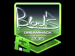 Sticker   B1ad3 (Foil)   Cluj-Napoca 2015