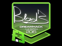 Sticker   B1ad3   Cluj-Napoca 2015
