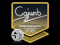 Sticker   cajunb   Cluj-Napoca 2015