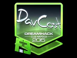 Sticker   DavCost (Foil)   Cluj-Napoca 2015