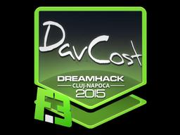 Sticker   DavCost   Cluj-Napoca 2015