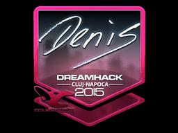 Sticker   denis (Foil)   Cluj-Napoca 2015