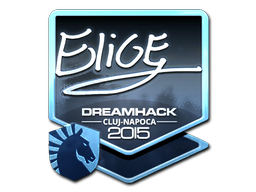 Sticker   EliGE (Foil)   Cluj-Napoca 2015