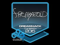 Sticker | freakazoid | Cluj-Napoca 2015