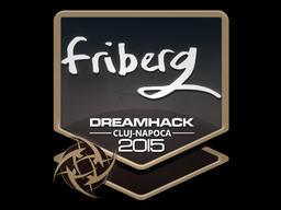 Наклейка | friberg | Клуж-Напока 2015