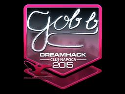 Sticker   gob b (Foil)   Cluj-Napoca 2015