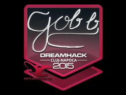 Sticker   gob b   Cluj-Napoca 2015