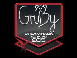 Наклейка | GruBy | Клуж-Напока 2015