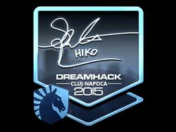 Sticker   Hiko (Foil)   Cluj-Napoca 2015