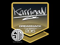 Sticker   karrigan   Cluj-Napoca 2015