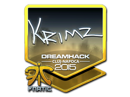 Sticker | KRIMZ (Foil) | Cluj-Napoca 2015
