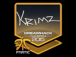 Sticker | KRIMZ | Cluj-Napoca 2015