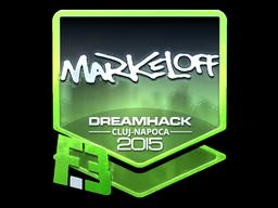 Sticker   markeloff (Foil)   Cluj-Napoca 2015
