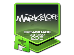 Sticker   markeloff   Cluj-Napoca 2015
