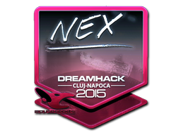 Sticker   nex (Foil)   Cluj-Napoca 2015
