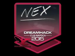 Sticker   nex   Cluj-Napoca 2015