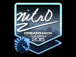 Sticker   nitr0 (Foil)   Cluj-Napoca 2015