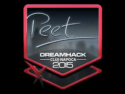 Sticker   peet (Foil)   Cluj-Napoca 2015