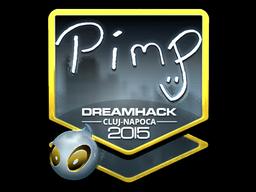 Sticker   Pimp (Foil)   Cluj-Napoca 2015