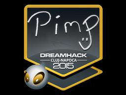 Sticker | Pimp | Cluj-Napoca 2015