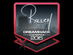 Sticker   rallen (Foil)   Cluj-Napoca 2015