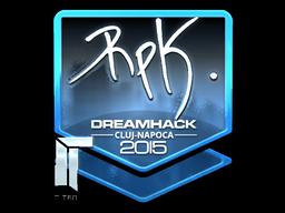Sticker   RpK (Foil)   Cluj-Napoca 2015