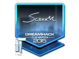 Sticker   ScreaM (Foil)   Cluj-Napoca 2015