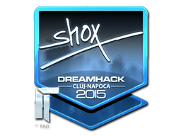 Sticker   shox (Foil)   Cluj-Napoca 2015