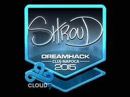 Sticker   shroud (Foil)   Cluj-Napoca 2015