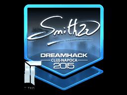 Sticker   SmithZz (Foil)   Cluj-Napoca 2015