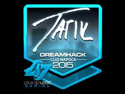 Sticker   tarik (Foil)   Cluj-Napoca 2015