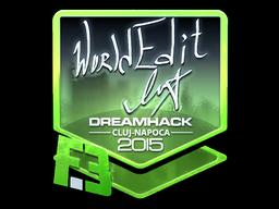 Sticker   WorldEdit (Foil)   Cluj-Napoca 2015