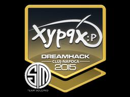 Sticker   Xyp9x   Cluj-Napoca 2015